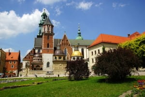 Wawel Cathedral, Wawel Hill in Cracow